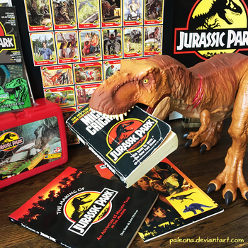 Memories of Jurassic Park by Paleona