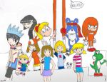 Me and My Favourite Characters by sinnamun