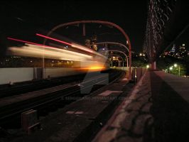 The Train Of Sydney, Australia by SergioLang