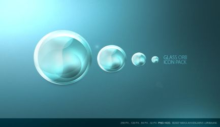 Glass Orb icons. by Uribaani