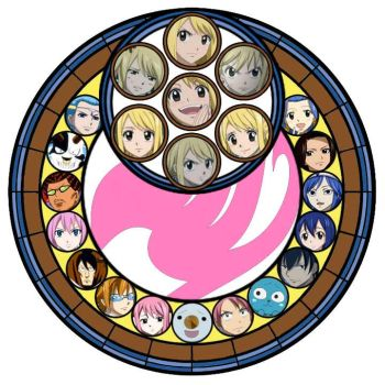 fairy tail lucy circle by music-mup