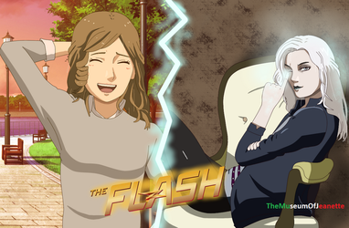 Killer Caitlin ~ The Flash by TheMuseumOfJeanette