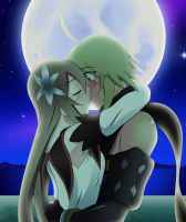 Marta and Emil kissing by chacrawarrior