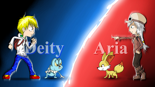 Deity VS Aria by DeityZiex