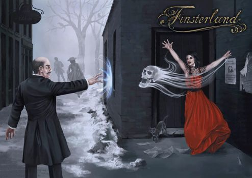 Finsterland Magierduell by Eleonore