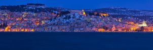 Sibenik in blue hour by ivancoric