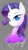 Rarity by ColineTheNeko