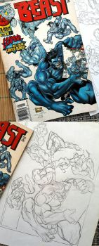 Beast cover May1997 by rogercruz