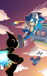 Archie Sonic Online #248 Cover (Colors) by TheEnigmaMachine