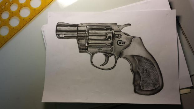 Colt Revolver by Sombie69
