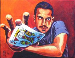 David Blaine by DrErock