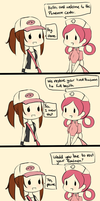 Comic: Pokemon Center by kunogi