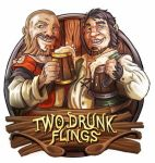 Two Drunk Flings by LANZAestudio