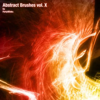 Abstract brush pack vol. 10 by forty-winks