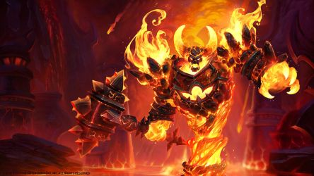 Ragnaros, the Firelord by Mr--Jack