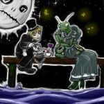 Ms. Mantis Tea party by Germille