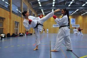 Girls karate by Thornsman