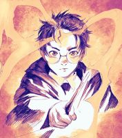 Harry Potter by HAmatsu