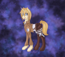 Attack on Titan Historia MLP by Derpsonhooves