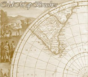Old Map Brushes by Sepals