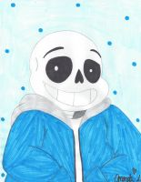 Undertale: Sans by HTFWhiskersthecat