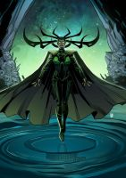 Hela by ChickenzPunk
