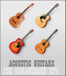 Acoustic Guitars by MugenB16