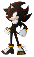 Sonic - Shadow the Hedgehog by Tulpen-Teufel