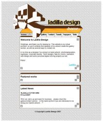 Ladilla design website preview by ladilla