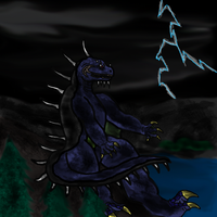 Destroy All Monsters: Varan by The-Great-MM