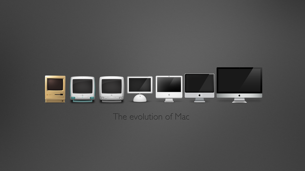 The Evolution Of Mac 2 by iTeppo