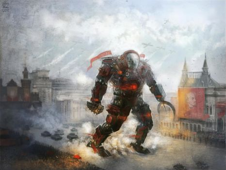 Moscow Jaeger by shuma-the-cat