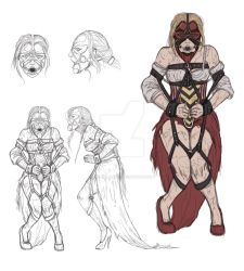 Queen of Hearts Turnaround by odingraphics