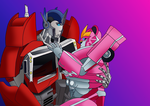 Transformers Prime - Art Trade by Book-Nose