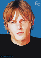 Young Norman Reedus by Prydonian-Poet