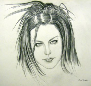 Amy Lee Evanescence by badbrad06