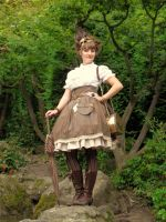 Steampunk Lolita by rufflesandsteam