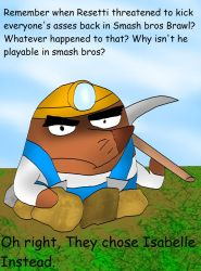 Resetti's Lament by kingofthedededes73