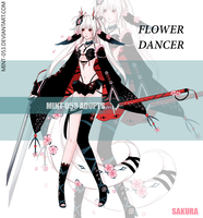 [CLOSED] Auction - Flower Dancer 3 by Syu-mln