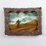 MiniPainting: Desert Tree by GlowingMember