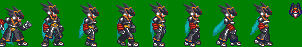 Megaman Sprite Model Colonel by axem-slayer-345