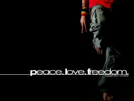peace.love.freedom. -mnmsfreak by dapride