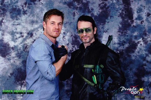 Me and Rick Cosnett - Arrow Cosplay in #SHC by LeonChiroCosplayArt