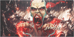 Zombie Signature by DareDesing