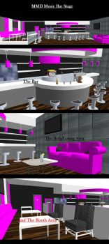 MMD Music Bar Stage ~Converted from SketchUp~ by xXFrenchToastXx