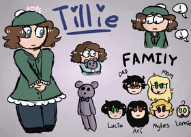 SP Oc - Tillie Holmes Ref by HopefulEntertain