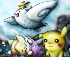 Togepi's dream by CPoring