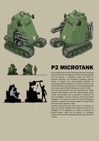 P2 Microtank by Bristow-Bailey