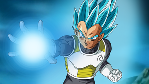 Vegeta SSGSSWallpaper by DragonBallAffinity