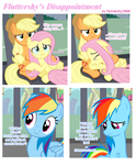 Fluttershy's Disappointment [FlutterDash] by Fluttershy1989